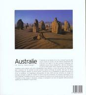 Australie Le Pays Continent - 4ème de couverture - Format classique