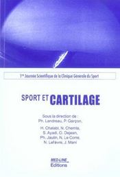 Vente  Sport et cartilage  - Ph Landreau - P Garcon