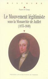 Mouvement Legitimiste Sous La Monarchie De Juillet - Intérieur - Format classique
