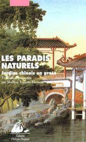 Paradis Naturels - Jardins Chinois En Prose (Les) - Intérieur - Format classique
