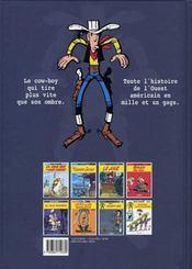 Lucky Luke t.24 ; la caravane - 4ème de couverture - Format classique