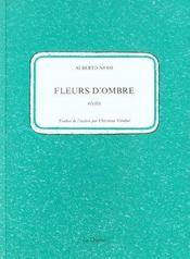 Fleurs D'Ombre - Intérieur - Format classique