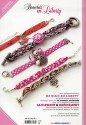 Bracelets en liberty ; 50 modèles - 4ème de couverture - Format classique