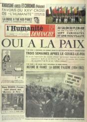 Humanite Dimanche (L') N°711 du 08/04/1962 - Couverture - Format classique