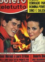 Bolero Film Teletutto - N°1082 - Couverture - Format classique