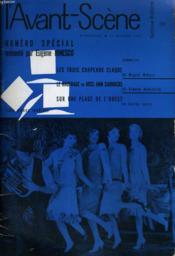 L'Avant-Scene - Femina-Theatre N° 191 - Numero Special Presente Par Eugene Ionesco - Couverture - Format classique