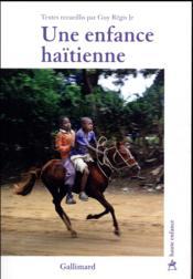 Une enfance haïtienne - Couverture - Format classique