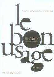 Le bon usage (14e édition) - Intérieur - Format classique