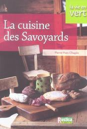 La cuisine des savoyards - Intérieur - Format classique