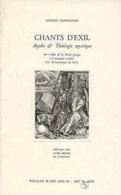 Chants D'Exil - Couverture - Format classique