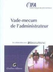 Vade Mecum De L'Administrateur - Intérieur - Format classique