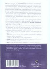 Vade Mecum De L'Administrateur - 4ème de couverture - Format classique