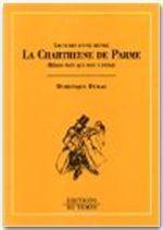 La chartreuse de Parme, de Stendhal - Couverture - Format classique