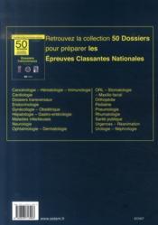 Épreuves classantes nationales 2007 ; annales corrigées 2007 - 4ème de couverture - Format classique