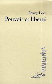 Pouvoir et liberté - Intérieur - Format classique