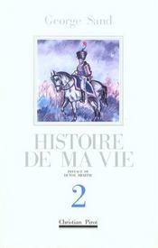 Histoire De Ma Vie T2 - Intérieur - Format classique