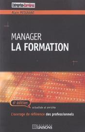 Manager La Formation - Intérieur - Format classique