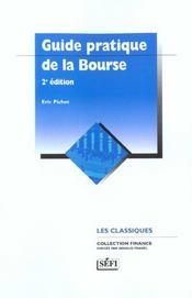 Guide pratique de la bourse ; 2e edition - Intérieur - Format classique