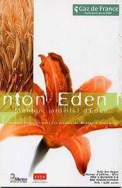 Parcours Pedestre Dans Les Jardins De Menton A Vingtimille - 4ème de couverture - Format classique
