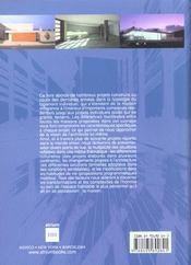 Maisons contemporaines du monde - 4ème de couverture - Format classique
