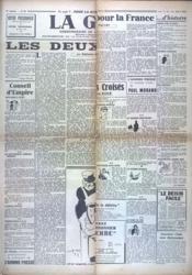 Gerbe (La) N°49 du 12/06/1941 - Couverture - Format classique