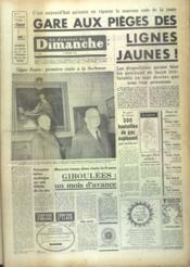 Journal Du Dimanche (Le) N°1159 du 09/02/1969 - Couverture - Format classique