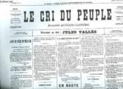 Fac Simile. Le Cri Du Peuple N° Inconnu Du 4 Avril 1871. - Couverture - Format classique