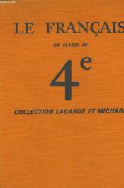 Le Francais En Classe De 4° - Couverture - Format classique