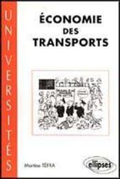 Economie Des Transports - Couverture - Format classique