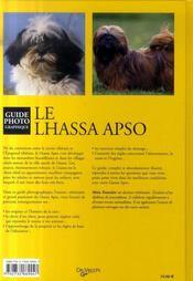 Le lhassa apso - 4ème de couverture - Format classique