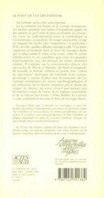 Notre Theatre La Cerisaie, Cahier De Spectateur - 4ème de couverture - Format classique