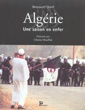 Algerie : Une Saison En Enfer - Intérieur - Format classique