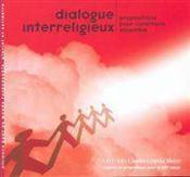 Dialogue Interreligieux - Couverture - Format classique