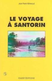 Voyage A Santorin - Couverture - Format classique
