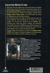 Le guide des dangers de la nature - 4ème de couverture - Format classique