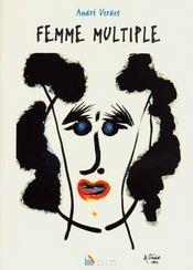 Femme Multiple, 12 Poemes De Verdet, 8 Linogravures De Victor Bauer - Intérieur - Format classique