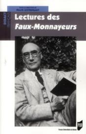 Lectures des Faux-monnayeurs - Couverture - Format classique