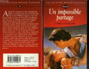 Un Impossible Partage - Cowboy Homecoming - Couverture - Format classique