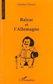 Balzac et l'Allemagne - Intérieur - Format classique