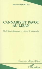 Cannabis et pavot au liban ; choix du développement et cultures de substitution - Intérieur - Format classique