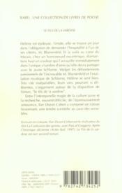Le fils de la sardine - 4ème de couverture - Format classique