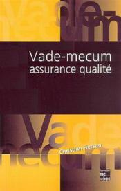 Vademecum assurance qualite ; 3e edition - Couverture - Format classique