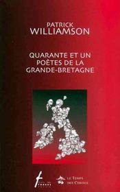 Quarante et un poètes de la Grande-Bretagne - Intérieur - Format classique