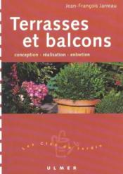 Terrasses Et Balcons - Couverture - Format classique