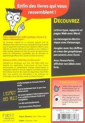 Office 2004 Mac - 4ème de couverture - Format classique