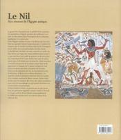 Un voyage le long du Nil - 4ème de couverture - Format classique