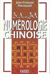 Numérologie chinoise - Intérieur - Format classique