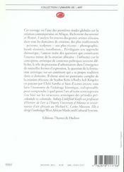 L'art contemporain africain - 4ème de couverture - Format classique