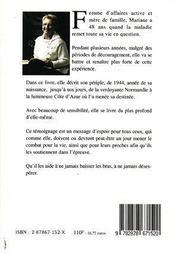 L'Angoisse De L'Aube - 4ème de couverture - Format classique