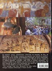 Vierges romanes - 4ème de couverture - Format classique